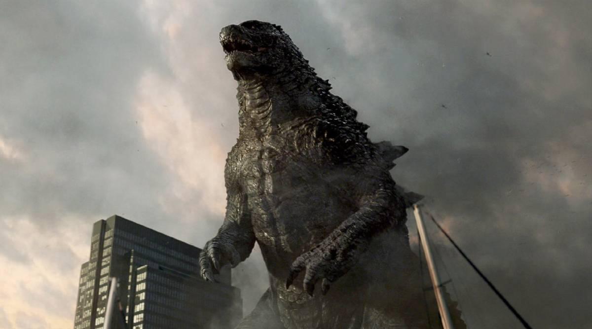 Cartaz do filme Godzilla - O Filme