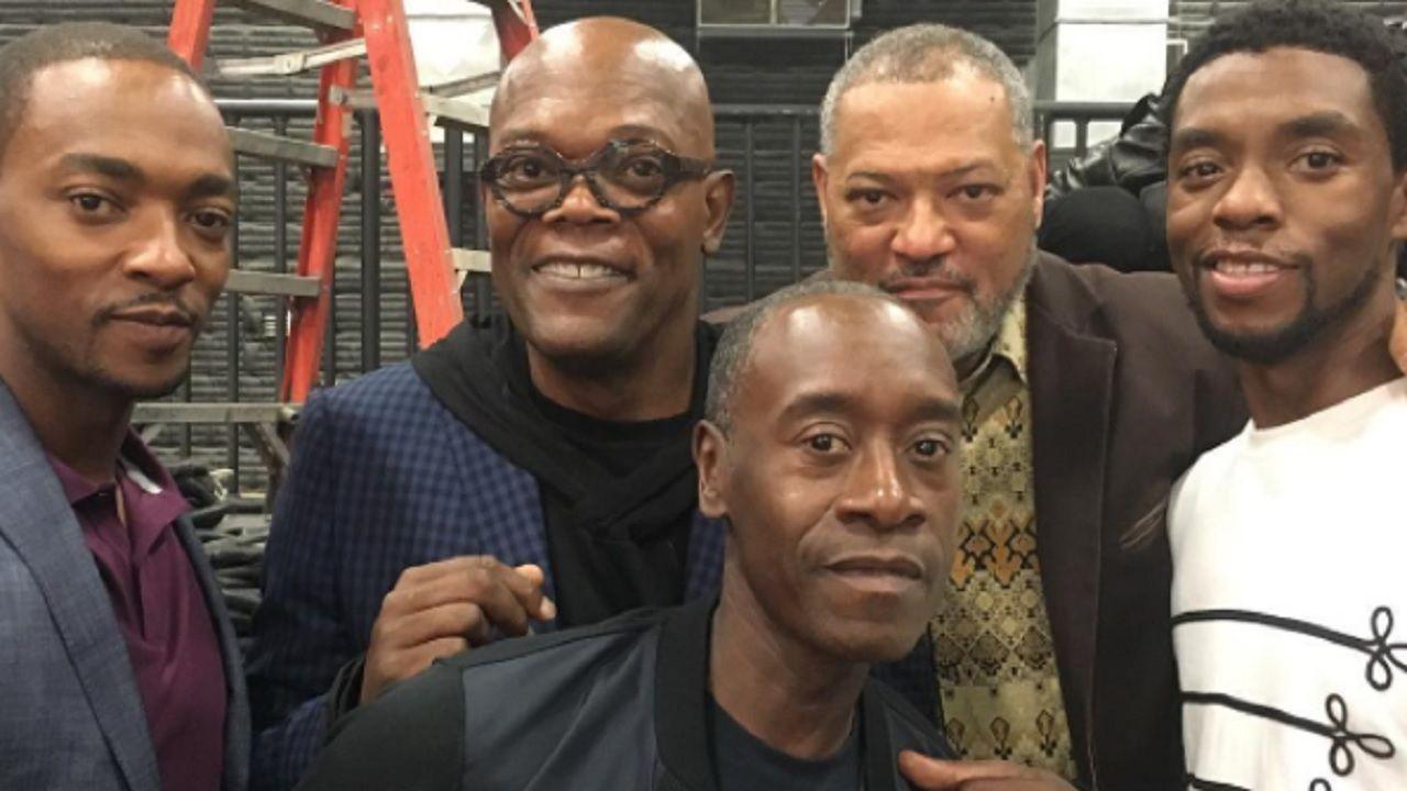 Chadwick Boseman e Samuel L. Jackson estavam planejando filme juntos
